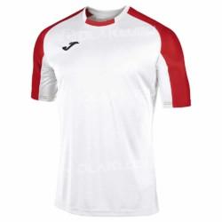 Koszulka sportowa JOMA Essential biało-czerwona