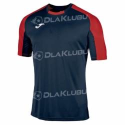 Koszulka sportowa JOMA Essential granatowo-czerwona