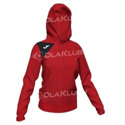 Bluza dresowa damska JOMA Spike II czerwono czarna