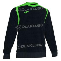 Bluza dresowa JOMA Champion V czarno zielona