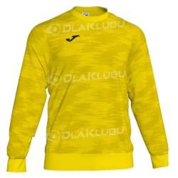 Bluza dresowa JOMA Grafity żółta