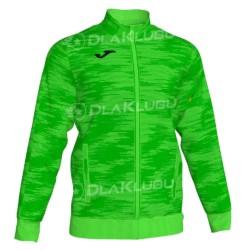 Bluza dresowa zapinana JOMA Grafity zielona