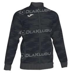 Bluza dresowa zapinana JOMA Grafity czarna