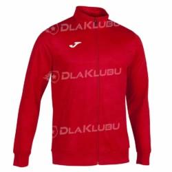 Bluza dresowa zapinana JOMA Grafity czerwona