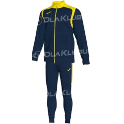 Dres treningowy JOMA Champion V granatowo żółty