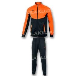 Dres treningowy JOMA Essential czarno pomarańczowy