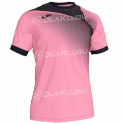 Koszulka siatkarska JOMA Hispa II różowo czarna