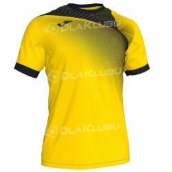 Koszulka siatkarska JOMA Hispa II żółto czarna