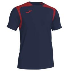 Koszulka piłkarska Champion V granatowo czerwona