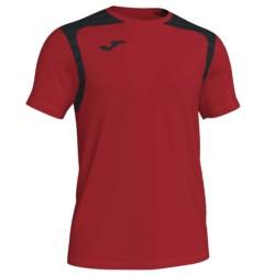 Koszulka piłkarska Champion V czerwono czarna