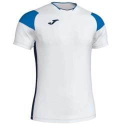 Koszulka piłkarska JOMA Crew III biało niebieska