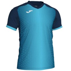 Koszulka piłkarska JOMA Supernova granatowo turkusowa