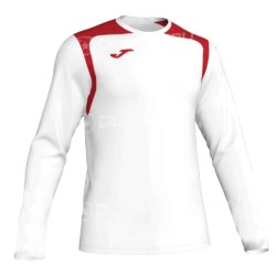 Koszulka piłkarska JOMA Champion V biało czerwona