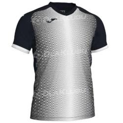 Koszulka piłkarska JOMA Supernova czarno biała
