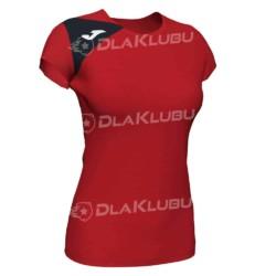 Koszulka siatkarska damska JOMA Spike II czerwono czarna