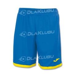 Spodenki piłkarskie JOMA Toledo niebiesko żółte