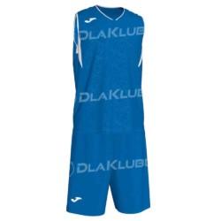 Strój koszykarski JOMA Campus niebiesko biały