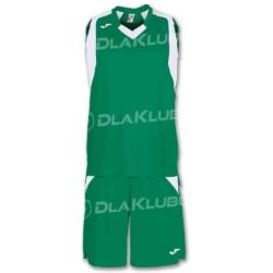 Strój koszykarski JOMA Final zielono biały