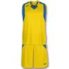 Komplet koszykarski JOMA Final żółto niebieski