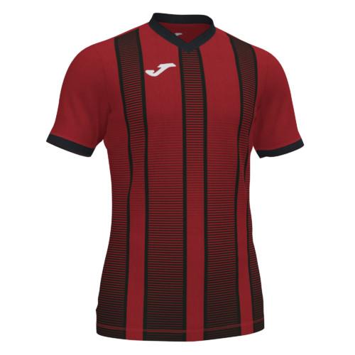 Koszulka piłkarska Joma Tiger czerwono czarna 101464.601
