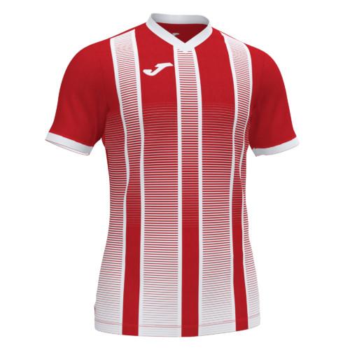 Koszulka piłkarska Joma Tiger czerwono biała 101464.602