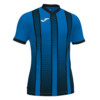 Koszulka piłkarska Joma Tiger niebiesko czarna 101464.701