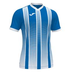 Koszulka piłkarska Joma Tiger niebiesko biała 101464.702