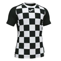 Koszulka piłkarska Joma Flag czarno biała 101465.102