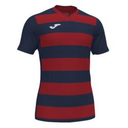 Koszulka piłkarska Joma Europa IV granatowo czerwona 101466.336