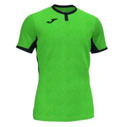 Koszulka Joma Toletum fluo zielono czarna 101476.021
