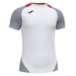 Koszulka piłkarska Joma Essential II biało granatowa 101508.203