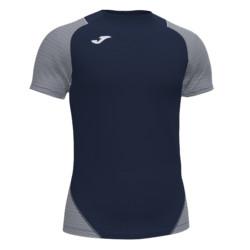 Koszulka piłkarska Joma Essential II granatowo biała 101508.332