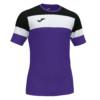 Koszulka piłkarska Joma Crew IV fioletowo czarna 101534.551