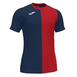 Koszulka piłkarska Joma City granatowo czerwona 101546.336
