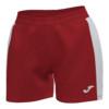 Spodenki sportowe damksie Joma Academy III czerwono białe 901142.602