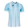 Koszulka piłkarska Joma Tiger błękitno biała 101464.352