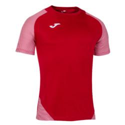 Koszulka piłkarska Joma Essential II czerwono biała 101508.602