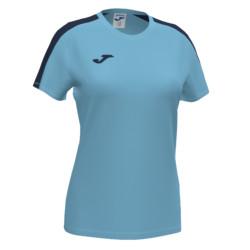 Koszulka sportowa damska Joma Academy III turkusowo granatowa 901141.013