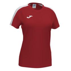 Koszulka sportowa damska Joma Academy III czerwono biała 901141.602