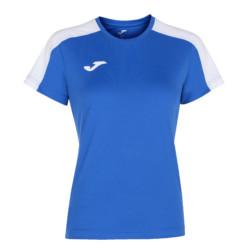 Koszulka sportowa damska Joma Academy III niebiesko biała 901141.702