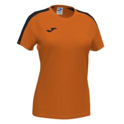 Koszulka sportowa damska Joma Academy III pomarańczowo czarna 901141.881