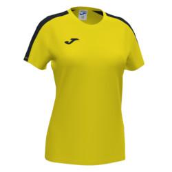 Koszulka sportowa damska Joma Academy III żółto czarna 901141.901
