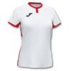 Koszulka sportowa damska Joma Toletum biało czerwona 901045.206