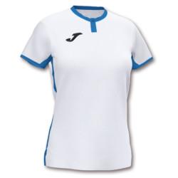 Koszulka sportowa damska Joma Toletum biało niebieska 901045.207