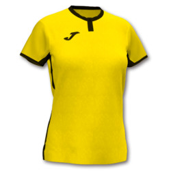 Koszulka sportowa damska Joma Toletum żółto czarna 901045.901