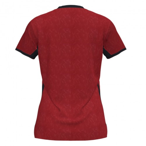 Koszulka sportowa damska Joma Toletum czerwono czarna 901045.601