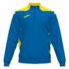 Bluza dresowa męska Joma Championship niebiesko żółta 101952.709
