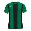 Koszulka Joma Pisa II zielono czarna 102243.451
