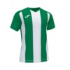 Koszulka Joma Pisa II zielono biała 102243.452