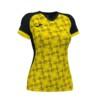 Koszulka sportowa damska Joma Supernova żółto czarna 901431.109